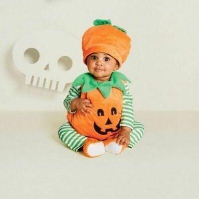 Baby Halloween Pumpkin (Baby Plush Pumpkin Halloween Costume 6-12 OR 12-18 MONTHS Hyde and Eek!)