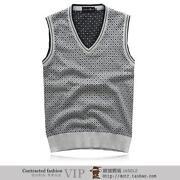 Mens Cardigan Vest