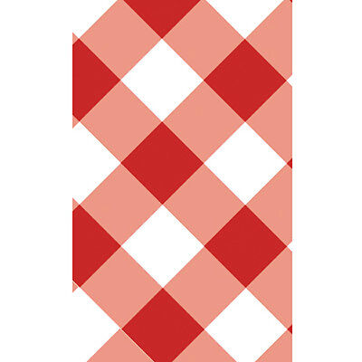 SUMMER Gingham Galore PLASTIC TABLE COVER ~ Birthday Party Supplies Decorations - Gingham Party Supplies