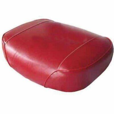 Seat Cushion Vinyl Red Oliver 1655 1750 1850 1855 White 2-85 Minneapolis Moline