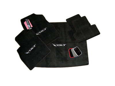 Chevrolet VOLT Floor Mats and Trunk Mat Jet Black Set 32oz 2ply Quality Made USA