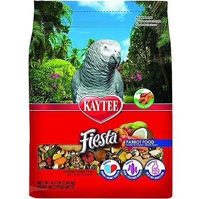 Kaytee Fiesta Max Bird Food For Parrots, 4-1/2-Pound