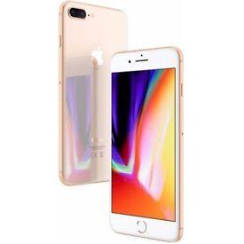 Iphone 8 plus gold 64gb Unlocked in west london