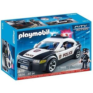 Playmobil NEUF voiture de police 5614