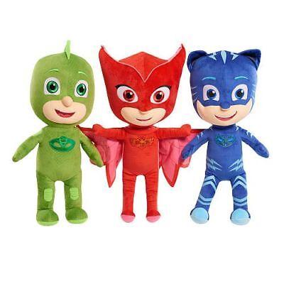 Disney PJ Masks Catboy Owlette Gekko Plush Doll Stuffed Animal Toy Gift SET - Disney Masks