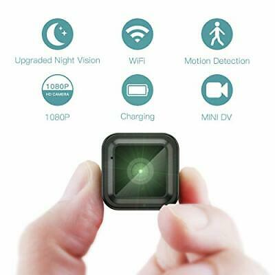 CACAGOO Hidden Camera 1080P, WiFi Wireless Mini Camera with Night Vision and