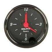 Autometer Clock