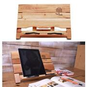 Wood Book Stand