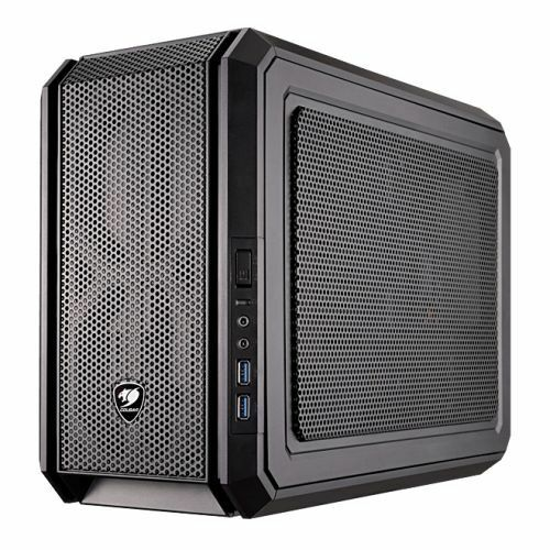 NEW! Cougar Qbx Kaze Pro Mini Itx Gamer Case Usb 3.0 Up To 7 Fans