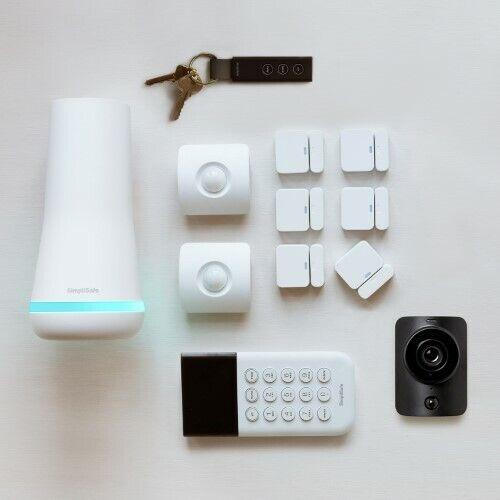 SimpliSafe SSBS3 Wireless Home Security System with Bonus SimpliCam