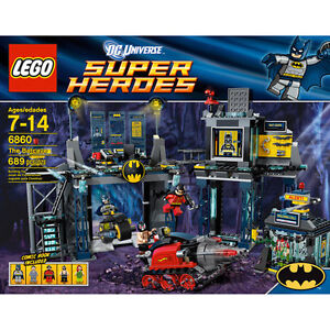 LEGO Batcave - RETIRED and FACTORY SEALED