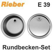Spulbecken rund spulen ebay for Küchenspüle rund