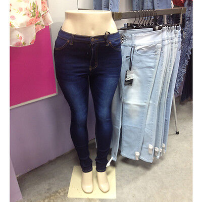 Female Half Mannequin Legs W Brazilian Butt Style Hips Metal Stand Ny Pickup