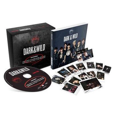 BTS-[DARK & WILD] 1st Album CD+120p PhotoBook+PhotoCard+Gift+Tracking K-POP