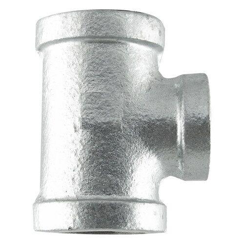 "3/4"" GALVANIZED MALLEABLE IRON TEE 3-way fitting pipe npt"