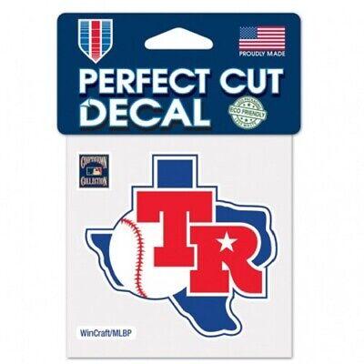 Wincraft Texas Rangers Decal (Texas Rangers 4