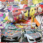 Sticker Bomb Matte Car and Truck Decals and Stickers