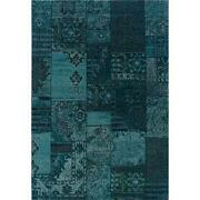 Pea Decor Teal Rug