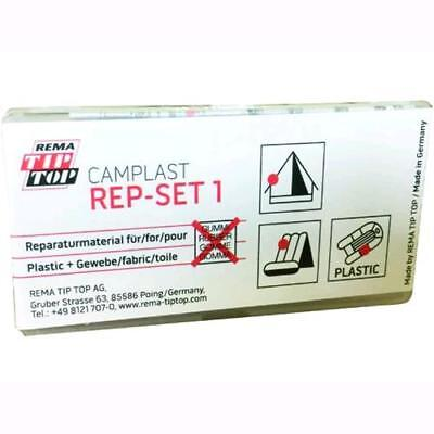 Kit Riparazione Tip-Top Camplast Rep-Set 1  per Tenda Camping , Gommoni, Materas