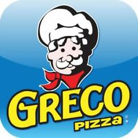 Greco pizza now hiring full and part time staff