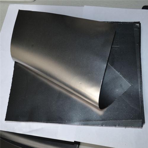 99.5% Pure Graphite Flexible Foil Sheet Graphoil Gasket 0.3mm x 300mm x 300mm