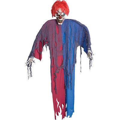Evil Creepy  Clown 6 foot spirit Halloween prop clown](Spirit Halloween Clown Prop)