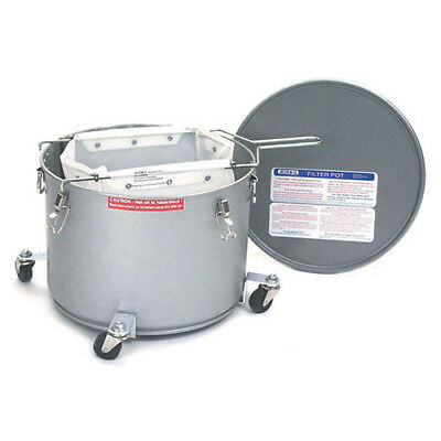 Fryer Filter Machine Safety Filter Drain Pot