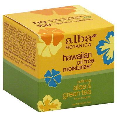 Alba Botanica Hawaiian Refining Aloe & Green Tea Oil Free Moisturiser 85g