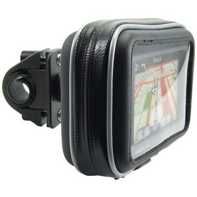 "GN032+WPCS-2: Bike Motorcycle Mount Case for 4.3"" Garmin, TomTom, Magellan GPS"