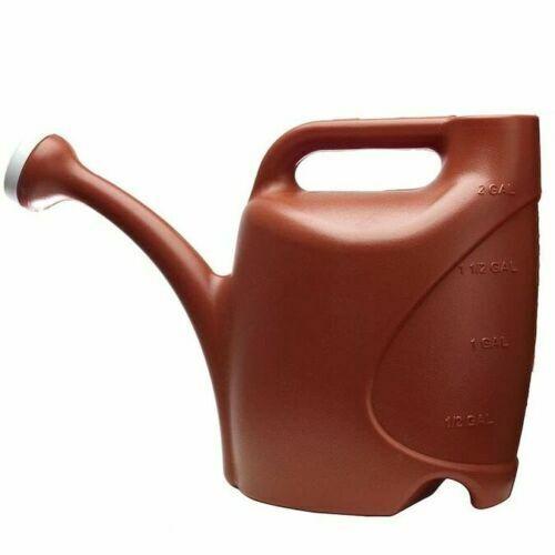allen + roth 2-Gallon Watering Can 2-Gallon Red Plastic Clas