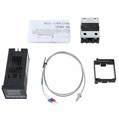 Temperature Controller Kit Ac 110-240v 0-400 Pid Temperature Controller