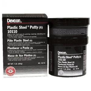 Devcon Plastic, Steel Epoxy Putty 1 Pound