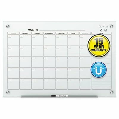 Infinity Magnetic Glass Calendar Board 24 X 18