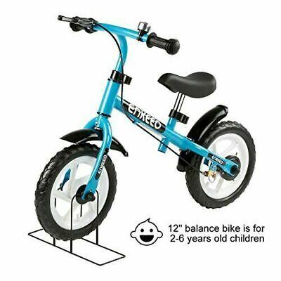 30.5cm Enkeeo Balance Bicicleta Sin Pedal Con Bell Y Mano Freno Para...