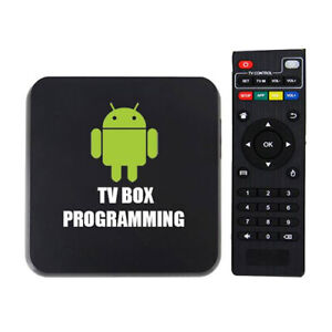Android Box TV programming-Flat fee​