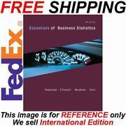 Essentials of Statistics 4th