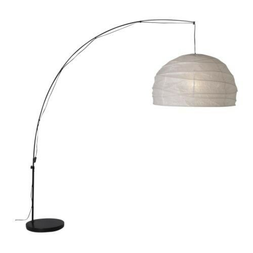Ikea regolit floor lamp with paper shade low hanging floor light ikea regolit floor lamp with paper shade low hanging floor light aloadofball Images