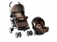 Graco Moasic One Black Jack Travel System Single Seat Stroller
