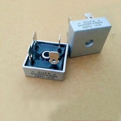 10pcs 50a 1000v Metal Case High Current Bridge Rectifier Kbpc5010 28 X 28mm Size