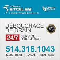 Services urgency 24/7 Plombier  Emergency Plumbing Services
