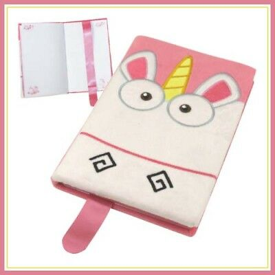 y Unicorn Premium A5 Notebook! official (Despicable Me Fluffy)