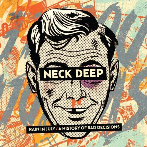 Neck Deep - Rain in July / a History of Bad Decisions [New CD] Digipack Packagin