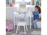 Brand new great little trading company Maisie dressing table with mirror