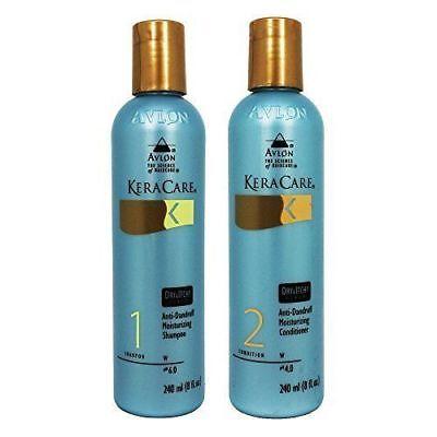 Avlon Keracare Dry Itchy Conditioner and Scalp Moisturizing Shampoo, 8oz