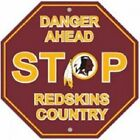 Washington Redskins NFL Fan Signs