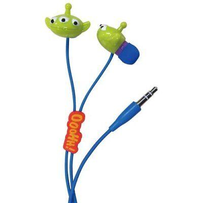 Gourmandise Toy Story Alien Character Earphone Blue DN-147BL Japan Japan new .