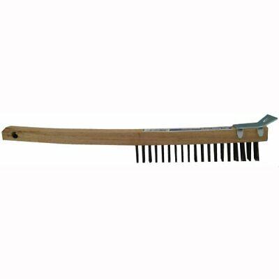 Wire Scraper (GAM Carbon Steel Long Bent Handle Wire Brush with Scraper )