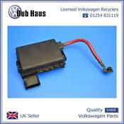 VW Battery Fuse Box