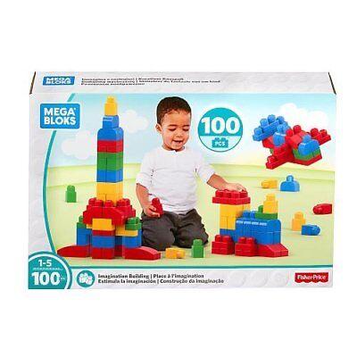 NEW Mega Bloks First Builders 100 piece classic building block