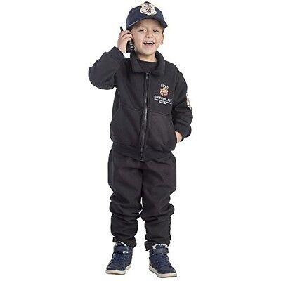 Dress up America Boys Hatzolah Rescuer EMS Costume Size S Age 4-6 Free P&P UK